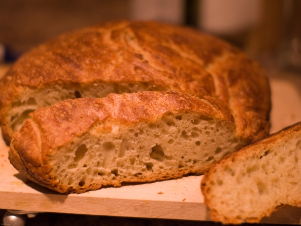 low-knead bread recipe